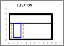 Window Shading Elevation