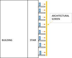 Stair Platform - Section
