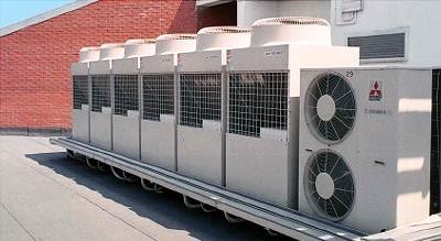 VRF Rooftop Condensers